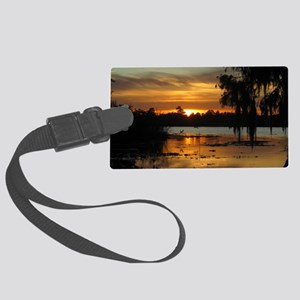 Lowcountry Sunset Large Luggage Tag