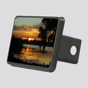 Lowcountry Sunset Rectangular Hitch Cover