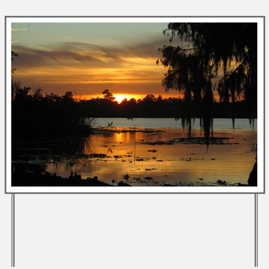 Lowcountry Sunset Yard Sign