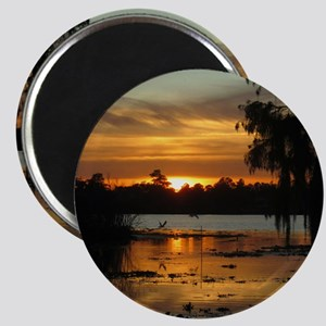 Lowcountry Sunset Magnet