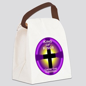 K of K Grow the Kingdom CIRCLE Canvas Lunch Bag