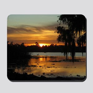 Lowcountry Sunset Mousepad