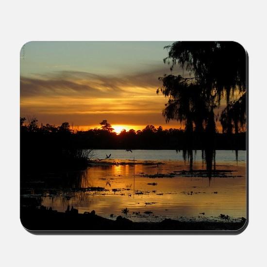 Lowcountry Sunset Mousepad