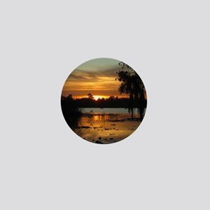 Lowcountry Sunset Mini Button