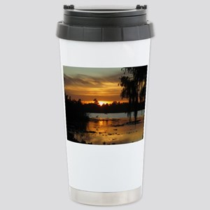 Lowcountry Sunset Stainless Steel Travel Mug