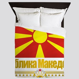 Macedonia (Flag 10) Queen Duvet