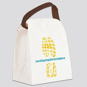 413 running back Canvas Lunch Bag