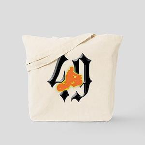 RuckRider49-2 Tote Bag