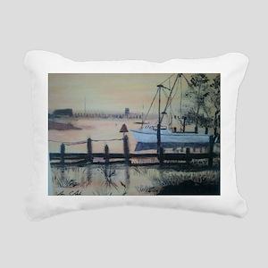 Tighlman sunset Rectangular Canvas Pillow