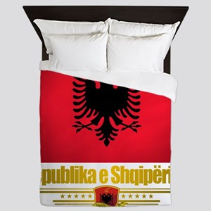 Albania (Flag 10) 2 Queen Duvet