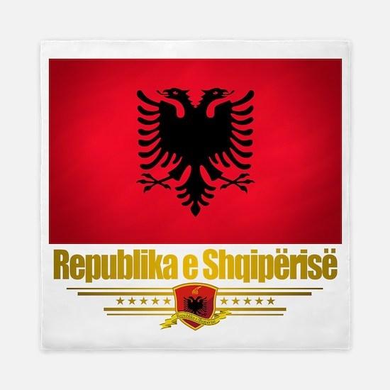 Albania (Flag 10) 2 Queen Duvet