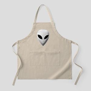 Zeta Reticulan Roswell Grey Alien Apron