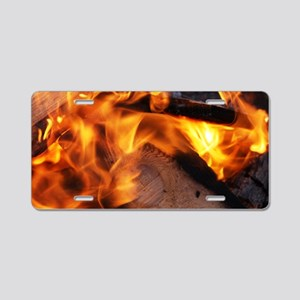 fire4 Aluminum License Plate