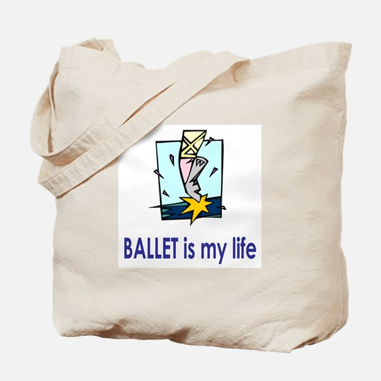 "BalletChick ""Life"" Tote Bag"