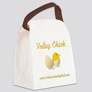 Volley Chick Canvas Lunch Bag