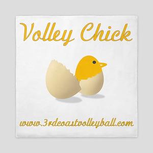 Volley Chick Queen Duvet