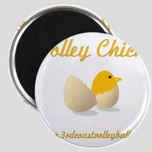 Volley Chick Magnet