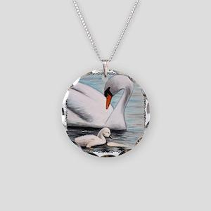 shirt_motherandswanpbaby Necklace Circle Charm