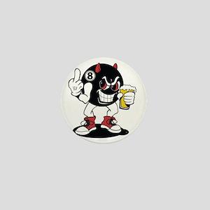 devil_8_ball Mini Button