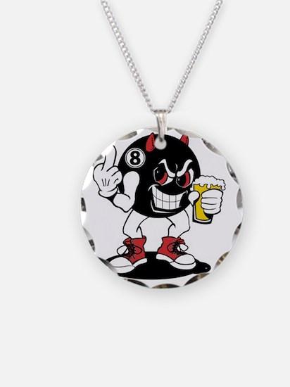 devil_8_ball Necklace