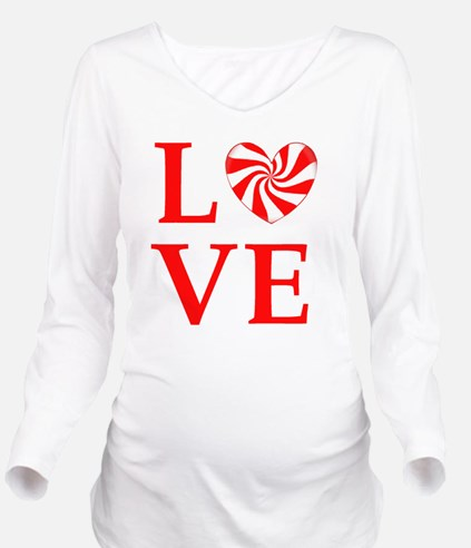 love peppermint_cand Long Sleeve Maternity T-Shirt