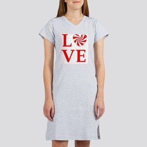 love peppermint_candy Women's Nightshirt