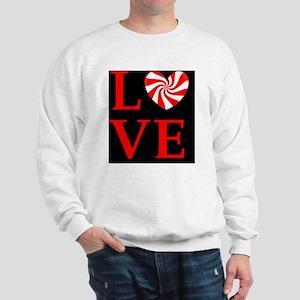 love peppermint_candyd Sweatshirt