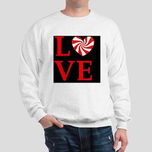 love peppermint_candydbut Sweatshirt
