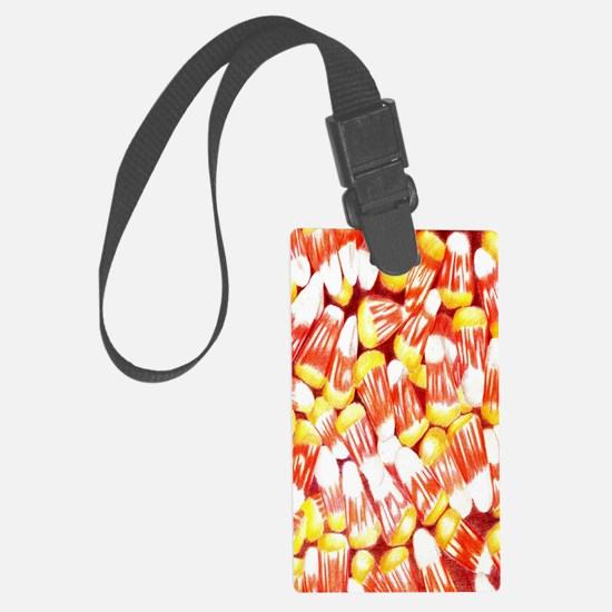 Candy Corn Nook Sleeve Luggage Tag