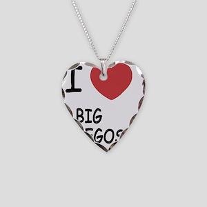 BIG_EGOS Necklace Heart Charm