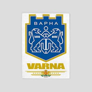 Varna COA (flag 10) 5'x7'Area Rug