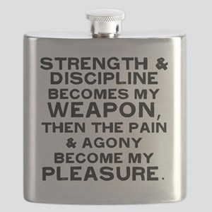 strength-and-disaplin Flask