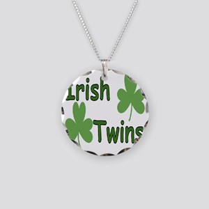 IrishTwinscompact Necklace Circle Charm