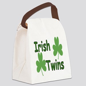 IrishTwinscompact Canvas Lunch Bag
