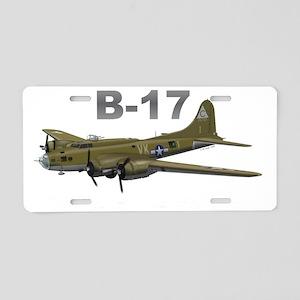 B17F_303rdRGBdarkTshirt Aluminum License Plate