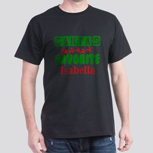 Santas Favorite Personalize T-Shirt
