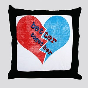 better_together Throw Pillow