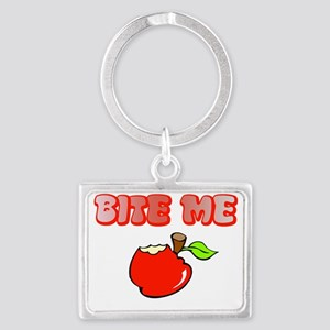 Bite_me_th Landscape Keychain