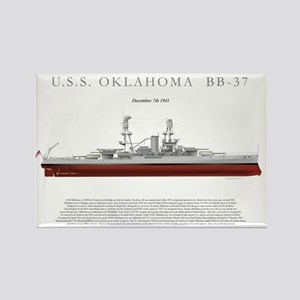 USSoklahoma_Print Rectangle Magnet