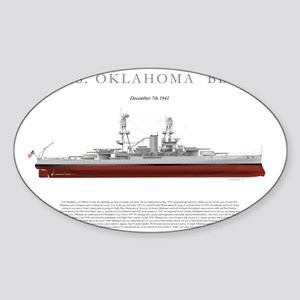 USSoklahoma_Print Sticker (Oval)