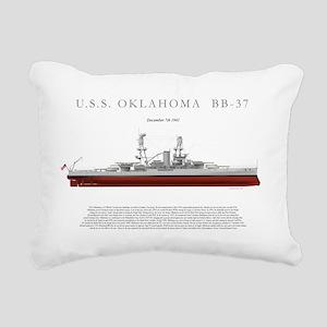 USSoklahoma_Print Rectangular Canvas Pillow