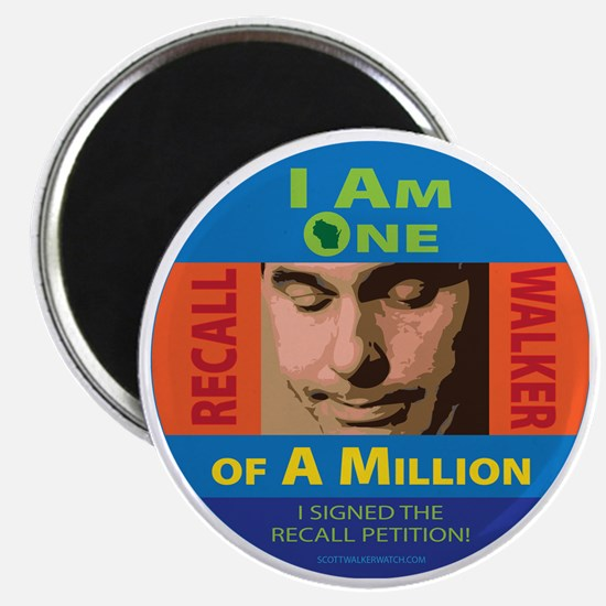 One of a Million button Magnet