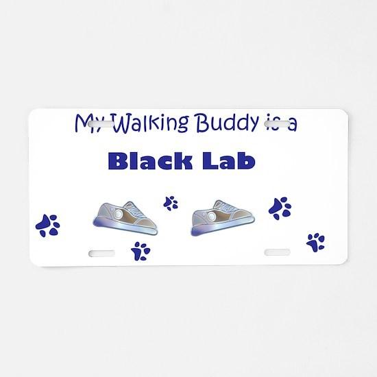 Labrador-Retriever-(Black) Aluminum License Plate