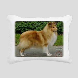 Shetland Sheepdog 9T002D Rectangular Canvas Pillow