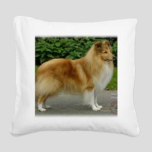 Shetland Sheepdog 9T002D-083 Square Canvas Pillow