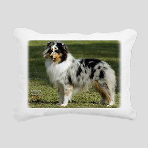 Shetland Sheepdog 9J089D Rectangular Canvas Pillow