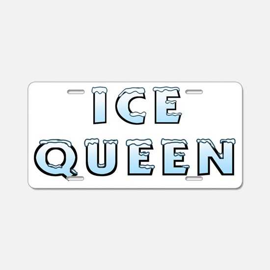 IceQueen_smalls Aluminum License Plate