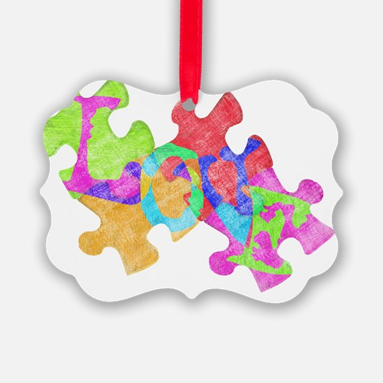 love_puzzle Ornament
