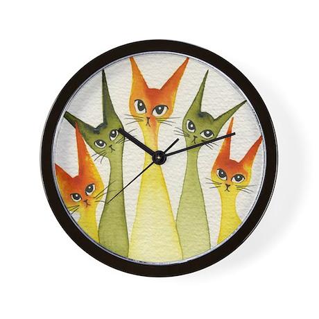 green hillsborough Wall Clock