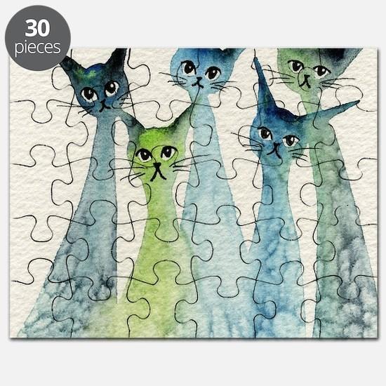 blue green lakeland Puzzle
